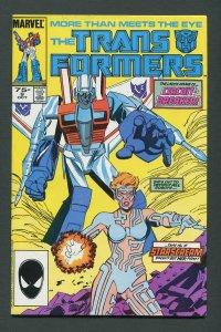Transformers #9  / 8.0 VFN  October 1985