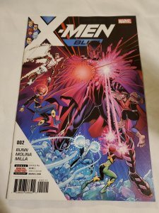 X-Men Blue 2 Near Mint  Cover by Arthur Adams