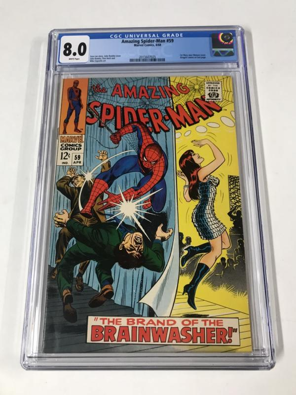 Amazing Spider-Man #59 CGC 8.0