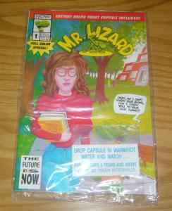 Mr. Lizard Annual #1 VF/NM complete in polybag with water-expandable capsule