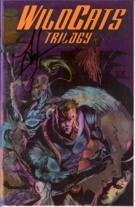 WILDCATS TRILOGY (1993 IMAGE) 1 (W/ CERT) VF-NM SIGNED COMICS BOOK