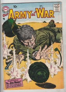 Our Army at War #63 (Oct-57) FN/VF Mid-High-Grade