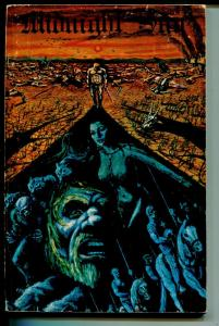 Midnight Sun #1 1974-limited edition=pulp stule sci-fi & fantasy-VG