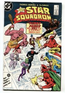 ALL-STAR SQUADRON #64 1986 comic book Starman - Johnny Quick