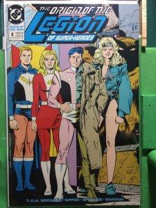 Legion Of Superheroes #8 1989 series