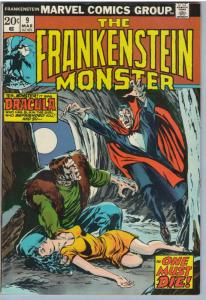 Frankenstein 9 Mar 1974 VF (8.0)