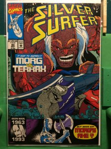 The Silver Surfer #80 Morg vs Terrax