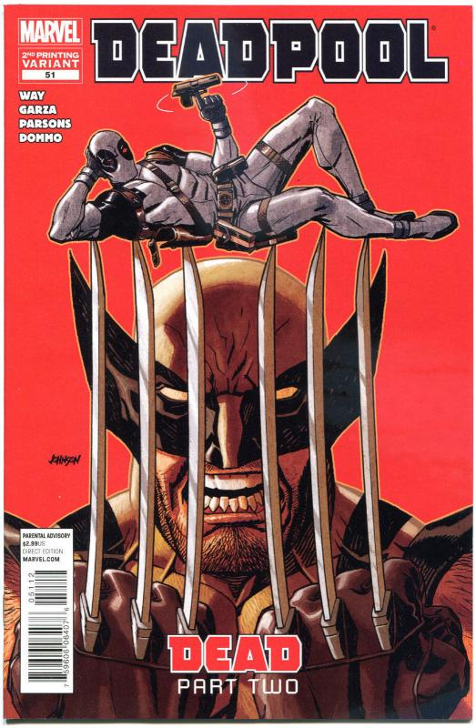 DEADPOOL #51, NM, 2nd print Variant, Wolverine, X-men, 2008,more Marvel in store