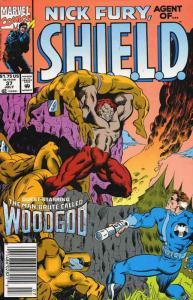 Nick Fury, Agent of S.H.I.E.L.D. (3rd Series) #37 VF/NM; Marvel   save on shippi