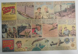 Captain Yank Sunday by Frank Tinsley from 6/3/1945 Size: 11 x 15 inches (CT)