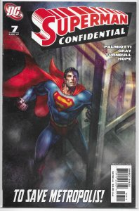 Superman Confidential   # 7 VF/NM (Welcome to Mer-tropolis 2)