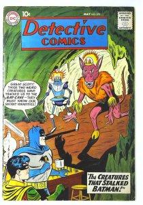 Detective Comics (1937 series) #279, VG+ (Actual scan)