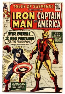 TALES OF SUSPENSE #59 1964-Captain America-Iron Man-comic book