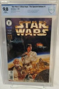 Star Wars: A New Hope Special Edition #1 CBCS 9.8 - NM/MT White Pages