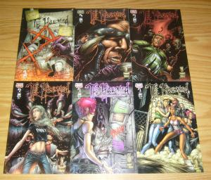 the Haunted #1-4 VF/NM complete series + gray matters + variant - peter david