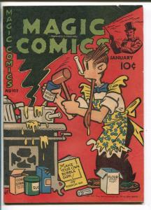 MAGIC #102 1948-DAVID MCKAY-BLONDIE-LONE RANGER-SECRET AGENT X-9-POPEYE-vg+