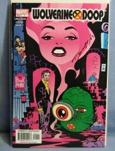WOLVERINE DOOP #1 (Marvel Comics 2003) AUTOGRAPHED DARWYN COOKE PINK MINK PT1