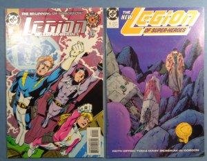 Lot of 30 Legion of Super-Heroes Comics #1 DC