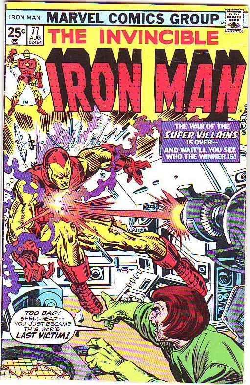 Iron Man #77 (Jan-75) VF High-Grade Iron Man
