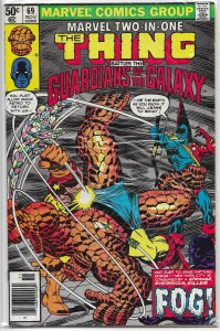 Marvel Two-in-One   vol. 1   # 69 GD/VG Thing/Guardians of the Galaxy