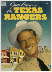 JACE PEARSON OF THE TEXAS RANGERS (1951-1954 DELL) 4 VG COMICS BOOK