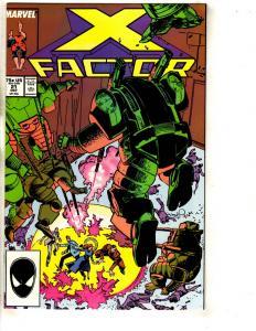 10 X-Factor Marvel Comic Books # 21 22 23 25 26 28 29 30 33 + Annual # 2 J320