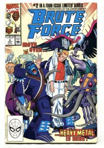 Brute Force #2 1990 comic book Marvel VF/NM