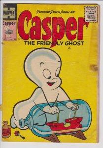 Casper the Friendly Ghost #35 (Aug 1955) GD Harvey