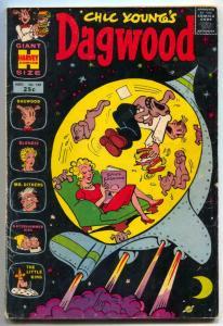 Dagwood #140 1965- giant size- rocket cover VG