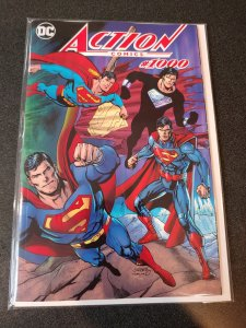 ACTION COMICS 1000 DAN JURGENS DYNAMIC FORCES COLOR WRAP VARIANT SUPERMAN NM!