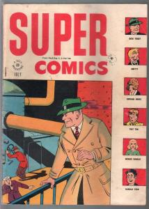 Super # 98 1946-Chester Gould-Dick Tracy-Orphan Annie-Clyde Beatty-VG