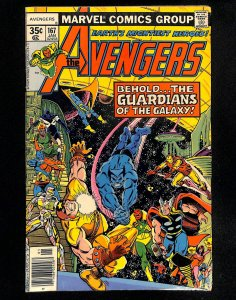 Avengers #167 Guardians of the Galaxy!