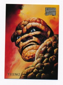 1996 Marvel Masterpieces #49 Thing