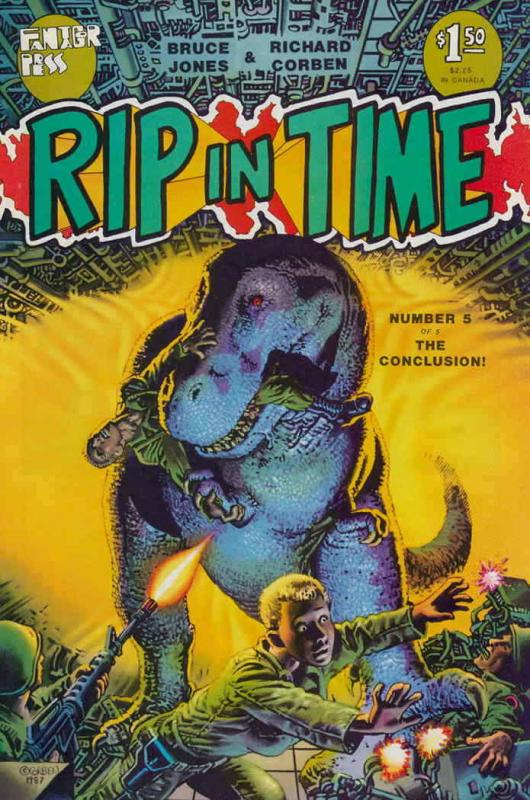 Rip in Time #5 VF/NM; Fantagor | save on shipping - details inside