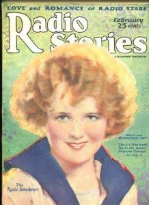 RADIO STORIES #5-03/195-LOVE-ROMANCE-RUST STAPLES-CLASSIC-vf minus