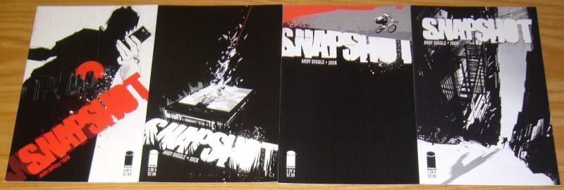 Snapshot #1-4 VF/NM complete series - andy diggle - jock - image comics 2 3 set