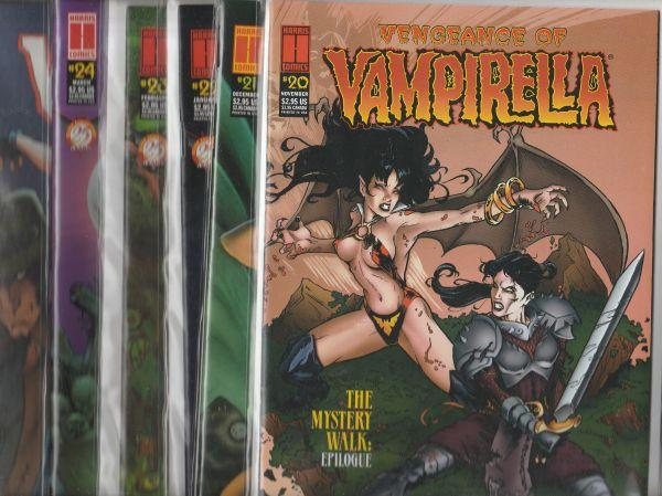 Vengeance Of Vampirella Set #1to24 (Jun-04) NM Super-High-Grade Vampirella