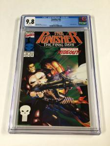 Punisher 58 Cgc 9.8 White Pages Marvel Copper Age