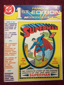 Famous First Edition Superman #1-1974 Treasury Edition comic book