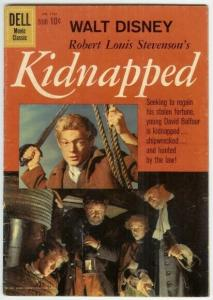 KIDNAPPED (1960 GOLD KEY) F.C.1101 G-VG PHOTOCOVER COMICS BOOK