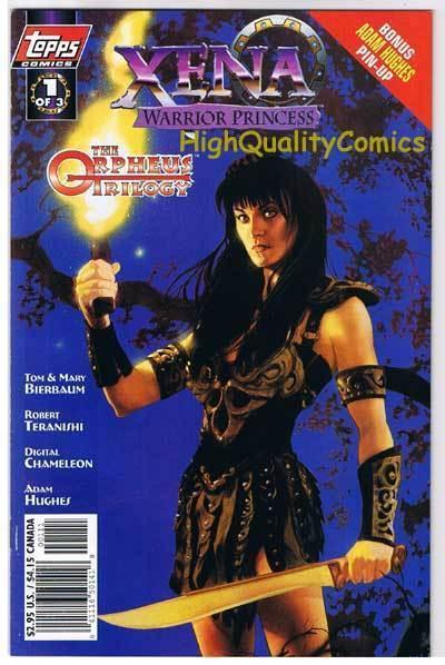 XENA WARRIOR PRINCESS ORPHEUS 1, NM+, Lucy Lawless,1998, more in store