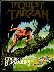 Quest of Tarzan #1 1989-1st issue-Virgil Finaly-1941 Argosy pulps-NM