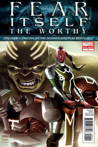 Fear Itself The Worthy #1, NM + (Stock photo)