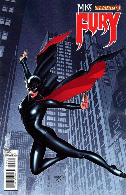 Miss Fury (Dynamite, Vol. 1) #2B VF/NM; Dynamite | save on shipping - details in