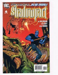 Shadowpact #4 NM DC Comics Comic Book 2006 DE28