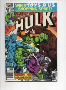 HULK #252, VF+, Incredible, Bruce Banner, Changeling, 1968 1980, Marvel