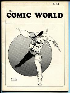 Comic World #10 1979-Vigilante cover-Yellow Claw-FN minus
