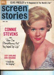 Screen Stories-Connie Stevens-Burt Lancaster-Elvis-May-1963