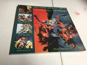 The Comics Journal Library 5 Classic Comics Illustrators Frank Frazetta Oversize