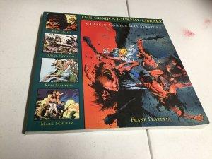 The Comics Journal Library 5 Classic Comics Illustrators Frank Frazetta Oversize